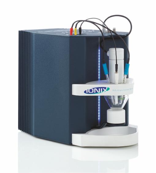 ردیابی فلزات سنگین IONIX