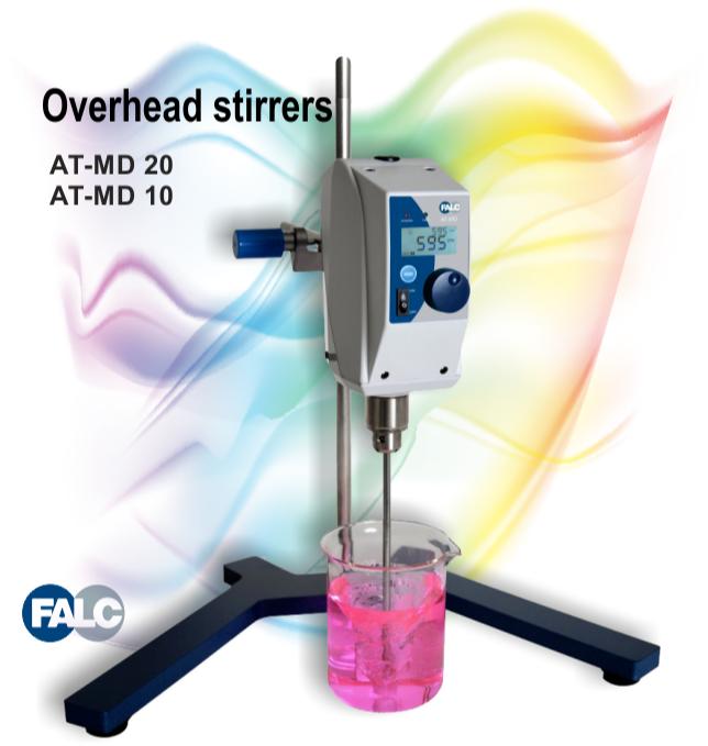 همزن آزمایشگاهی میکسر مکانیکی آزمایشگاهی Overhead Mixer